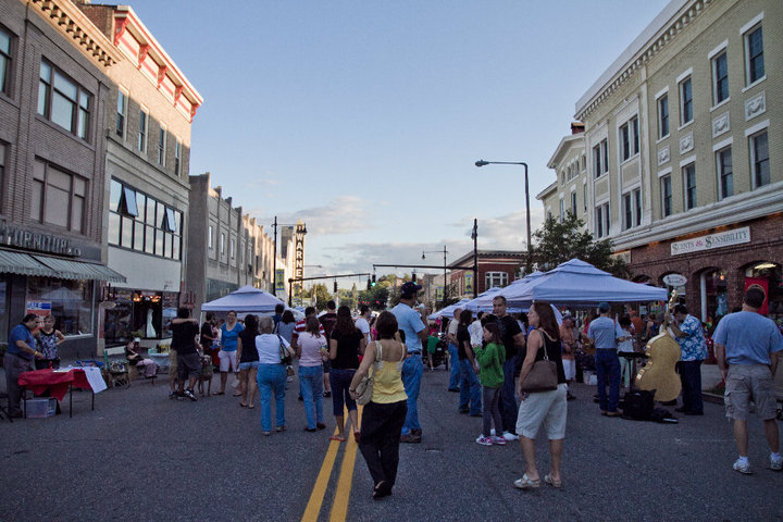 This summers Main Street Marketplace in downtown Torrington. Photo credit: 60B Photography