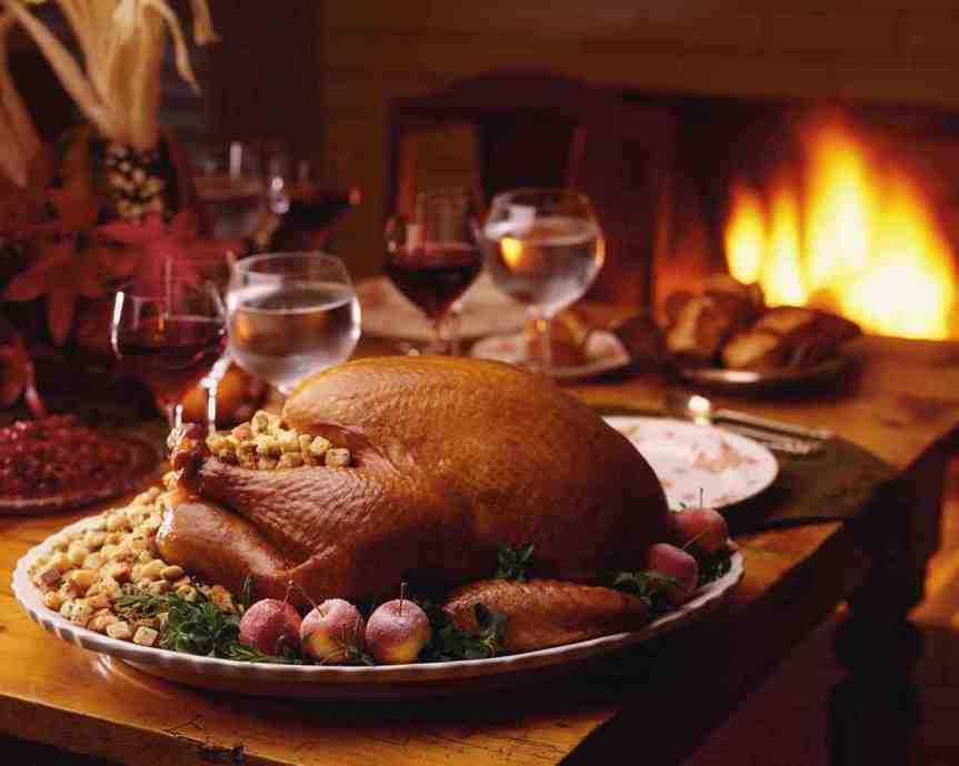 Thanksgiving dinner from thefarm