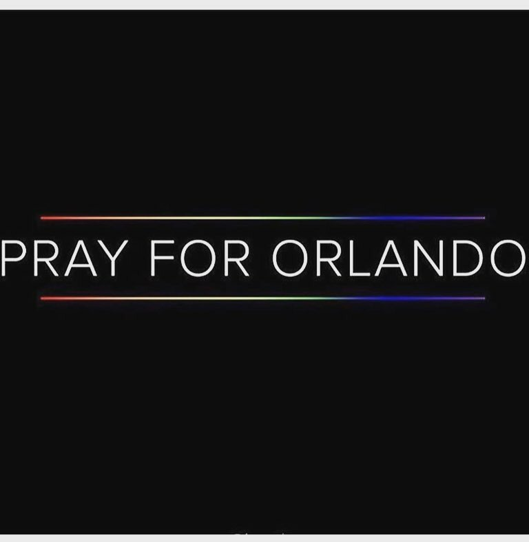 Statement Regarding Orlando Events.